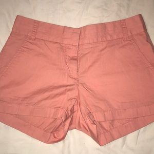 J. Crew Chino Peach Shorts